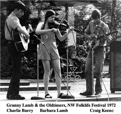 Early Bluegrass in the Northwest